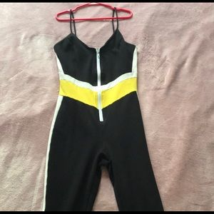Fashion Nova Colorblock Jumpsuit